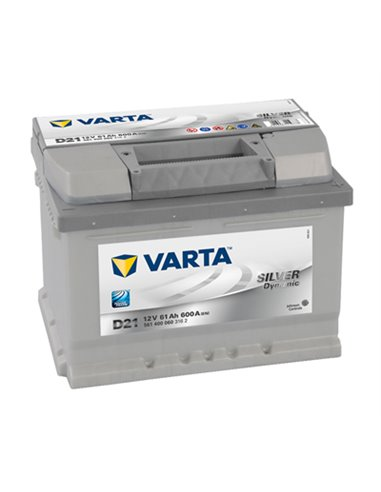 VARTA Silver Dynamic 12V 61Ah 600A - Borna Normala (dreapta +)