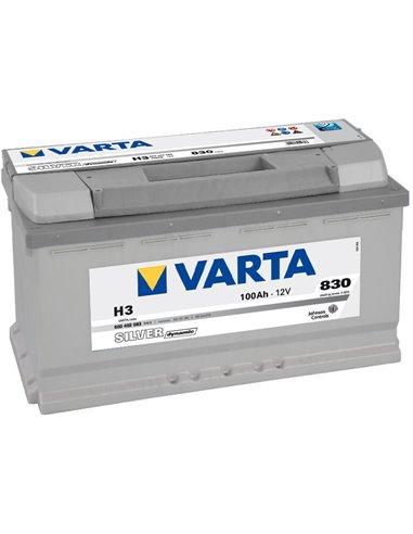 VARTA Silver Dynamic 12V 100Ah 830A - Borna Normala (dreapta +)