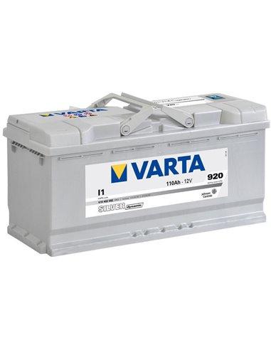 VARTA Silver Dynamic 12V 110Ah 920A - Borna Normala (dreapta +)